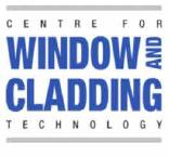 Window and Cladding